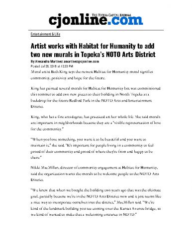 Artists add two murals in NOTO